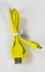 Micro Round USB Cable Yellow