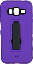 Samsung Galaxy J5 Armor Horizontal With Kickstand Purple