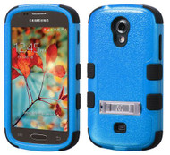 Samsung Galaxy Light T399 MYBAT Natural Dark Blue/Black TUFF Hybrid Phone Protector Cover (with Stand)