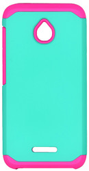 Alcatel Dawn MM Slim Dura Case Green&Pink