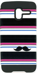 Alcatel Tru MM Slim Dura Metal Horizontal Moustache