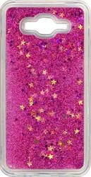 Samsung J7 Water Glitter Pink