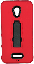 Alcatel Fierce 4 Armor Horizontal With Kickstand Red