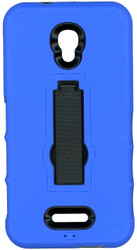 Alcatel Fierce 4 Armor Horizontal With Kickstand Blue