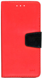 Alcatel Fierce 4 MM Executive Wallet Red
