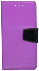 Alcatel Fierce 4 MM Executive Wallet Purple