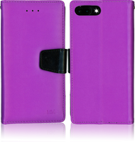 Iphone 7 PLUS MM Executive Wallet Purple