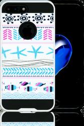 Iphone 7 PLUS MM Slim Dura Metal Teal Fish