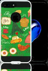 Iphone 7 PLUS MM Slim Dura Metal Green Love