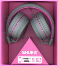 Over The Head Headphones Pink