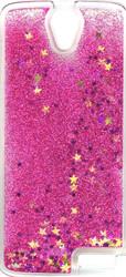 ZTE WARP 7  Water Glitter Cases Pink