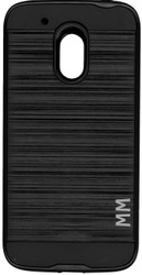 MOTO G4 Play MM Slim Dura Metal Finish Black