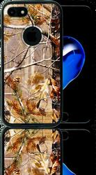 Iphone 7  MM Slim Dura Metal Finish Brown Camo & Black