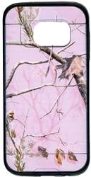 Samsung Galaxy S7 MM Slim Dura Metal Finish Pink Camo & Black