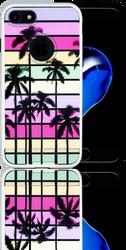 Iphone 7 MM Slim Dura Metal Rainbow Paradise