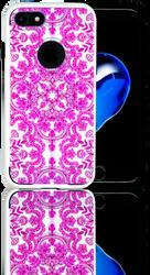 Iphone 7 MM Slim Dura Metal Pink Stencil