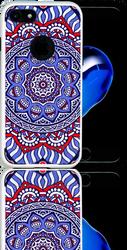 Iphone 7 MM Slim Dura Metal Tribal Blue