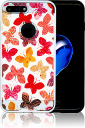 Iphone 7 PLUS MM Slim Dura Metal Rainbow Butterfly