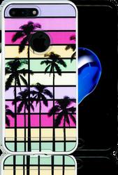 Iphone 7 PLUS MM Slim Dura Metal Rainbow Paradise