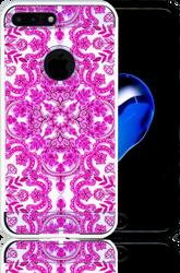 Iphone 7 Plus  MM Slim Dura Metal Pink Stencil