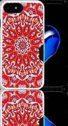 Iphone 7  MM Slim Dura Metal CC Tribal Red