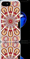 Iphone 7  MM Slim Dura Metal CC  Tribal Yellow