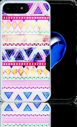 Iphone 7 PLUS MM Slim Dura Metal CC Rainbow Chevron