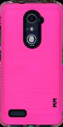 ZTE ZMax Pro MM Metal Carbon Fiber Pink