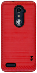ZTE ZMax Pro MM Metal Carbon Fiber Red