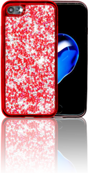 Iphone 7 MM Tpu Bling Red