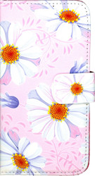 Samsung Galxy ON5 MM 3D Design Wallet Pink Flowers