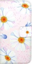 LG K7 MM 3D Design Wallet Pink Flowers