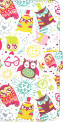 LG Stylo2 PLUS  MM 3D Design Wallet Owl