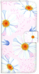 LG Stylo2 PLUS  MM 3D Design Wallet Pink Flowers