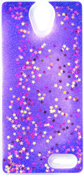 ZTE Avid Trio MM Water Glitter With Star Purple