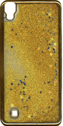 LG XPower MM Electroplated Glitter Case With Stars Gold