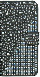 LG XPower MM Jewel Diagonal Wallet Black
