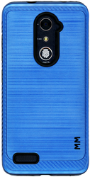 ZTE ZMax Pro MM Metal Carbon Fiber Blue