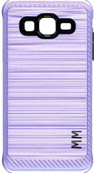 Samsung Galaxy ON5 MM Metal Carbon Fiber Purple