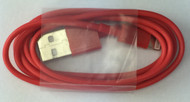 Lightning USB Cable Red
