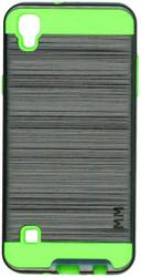 LG TRIBUTE HD MM Slim Dura Metal Finish Grey&Green