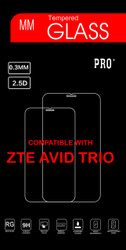 ZTE Avid TrioTempered Glass