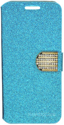 HTC Desire 530 Glitter Bling Wallet Teal