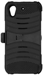 HTC Desire 530 Armor Case with Clip Black
