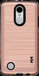 LG Aristo MM  Carbon Fiber Metal Rose Gold