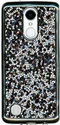 LG Aristo MM Candy Bling Case Black