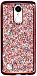 LG Aristo MM Candy Bling Rose Gold
