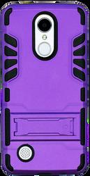 LG Aristo MM Slim Dura With Kickstand Purple