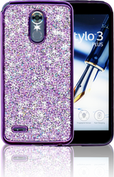 LG Stylo 3 MM Candy Bling Case Purple