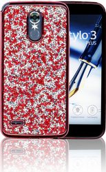 LG Stylo 3 MM Candy Bling Case Red